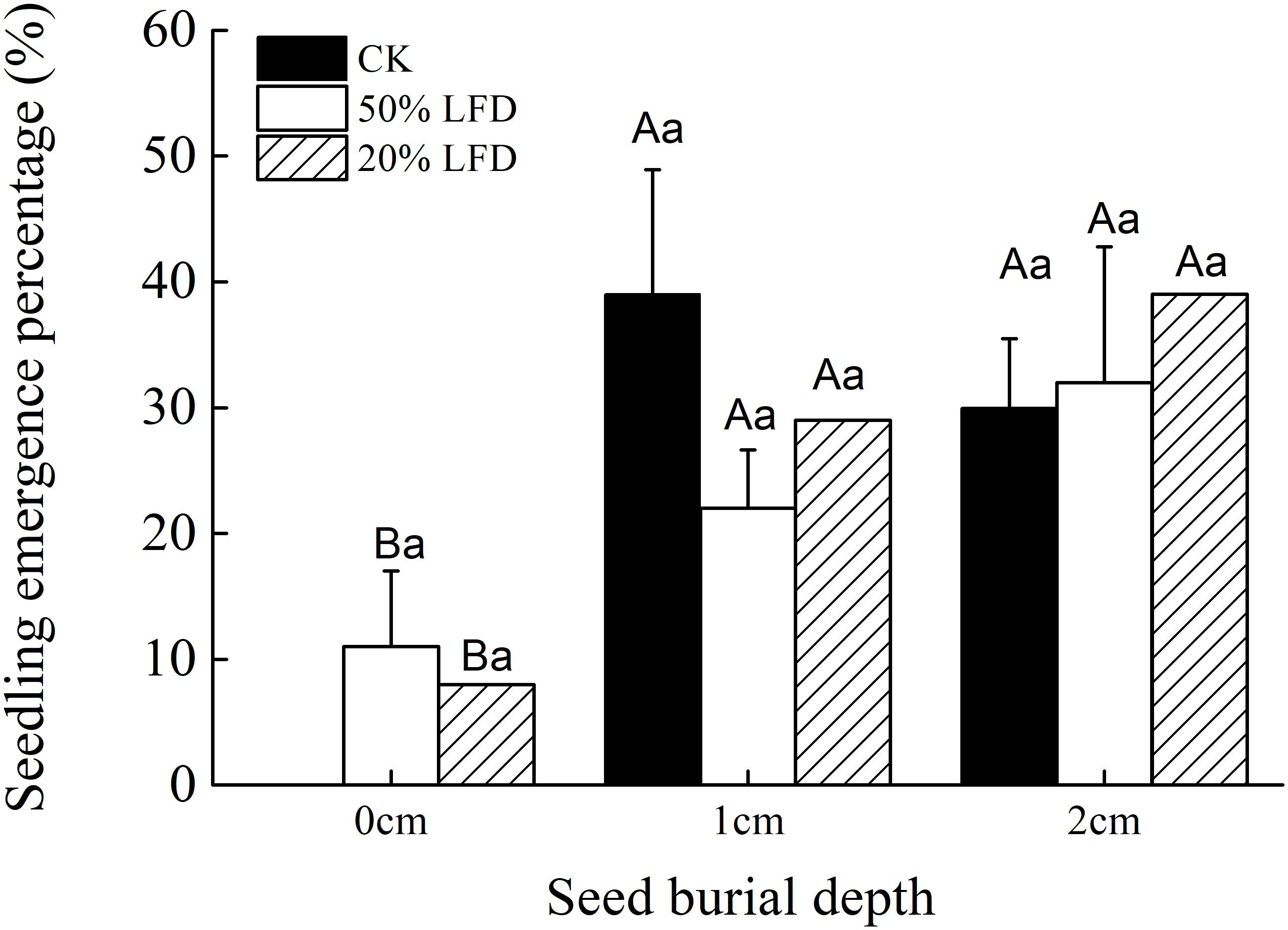 Frontiers | The Bet-Hedging Strategies for Seedling Emergence of