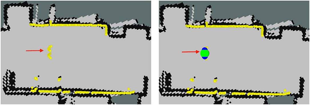 Frontiers   Tracking People in a Mobile Robot From 2D LIDAR