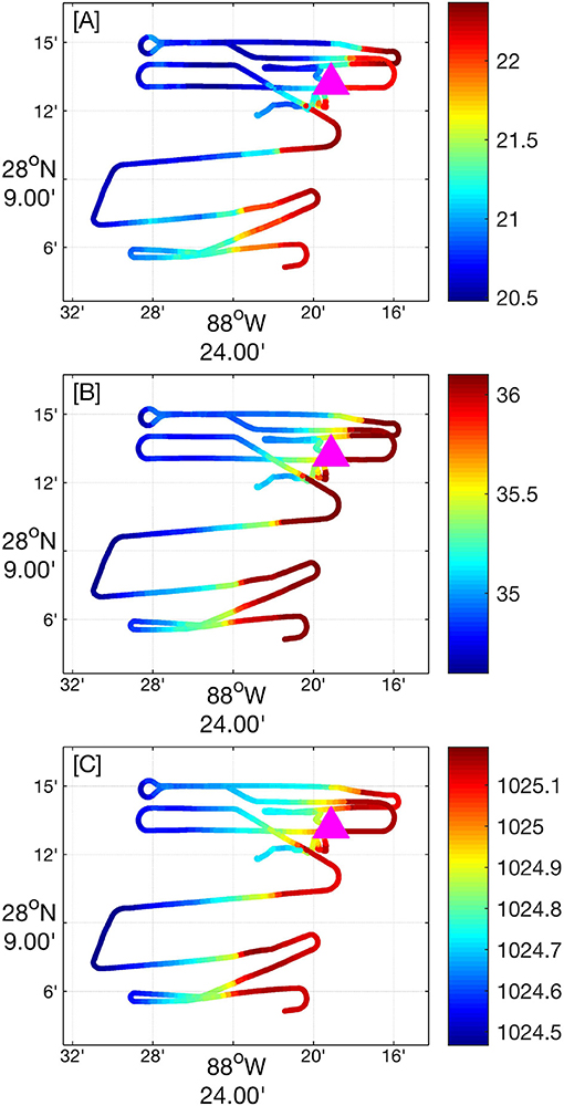 Frontiers | Surface Ocean Dispersion Observations From the Ship