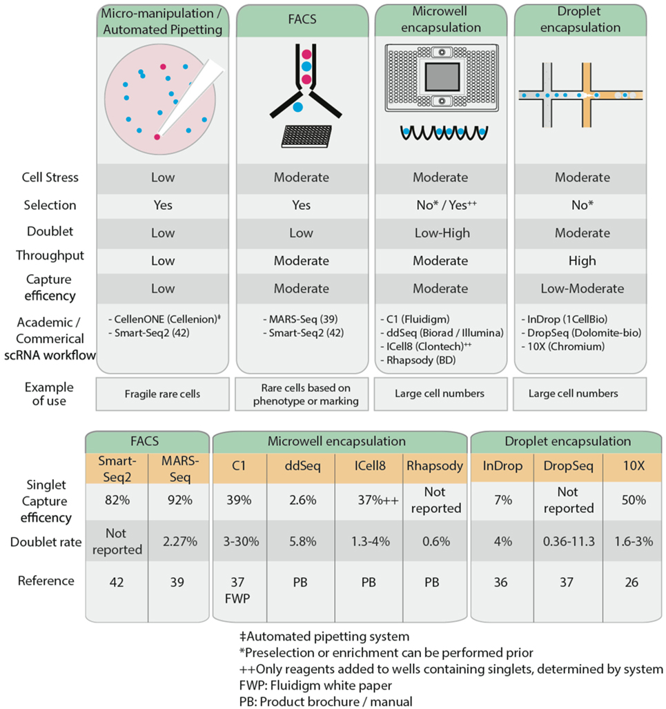 frontiers single cell rna sequencing of rare immune cell