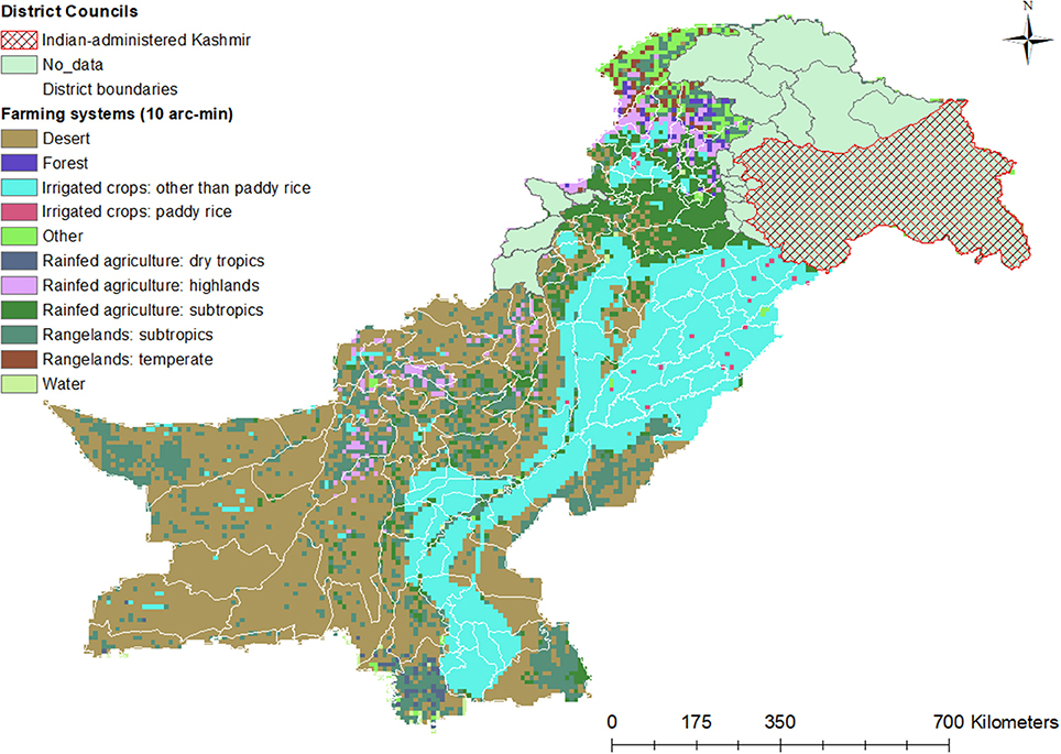 Frontiers | Closing Pakistan's Yield Gaps Through Nutrient Recycling