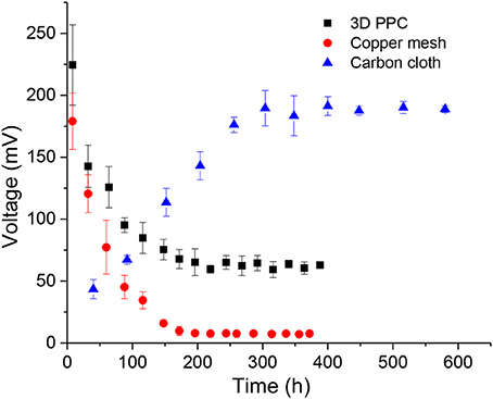 Frontiers   Application of 3D Printed Porous Copper Anode in