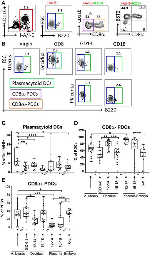 Frontiers | Decidual-Placental Immune Landscape During