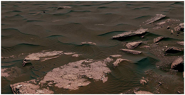 Figure 1 - A Martian dune (Retrieved from: NASA.GOV).