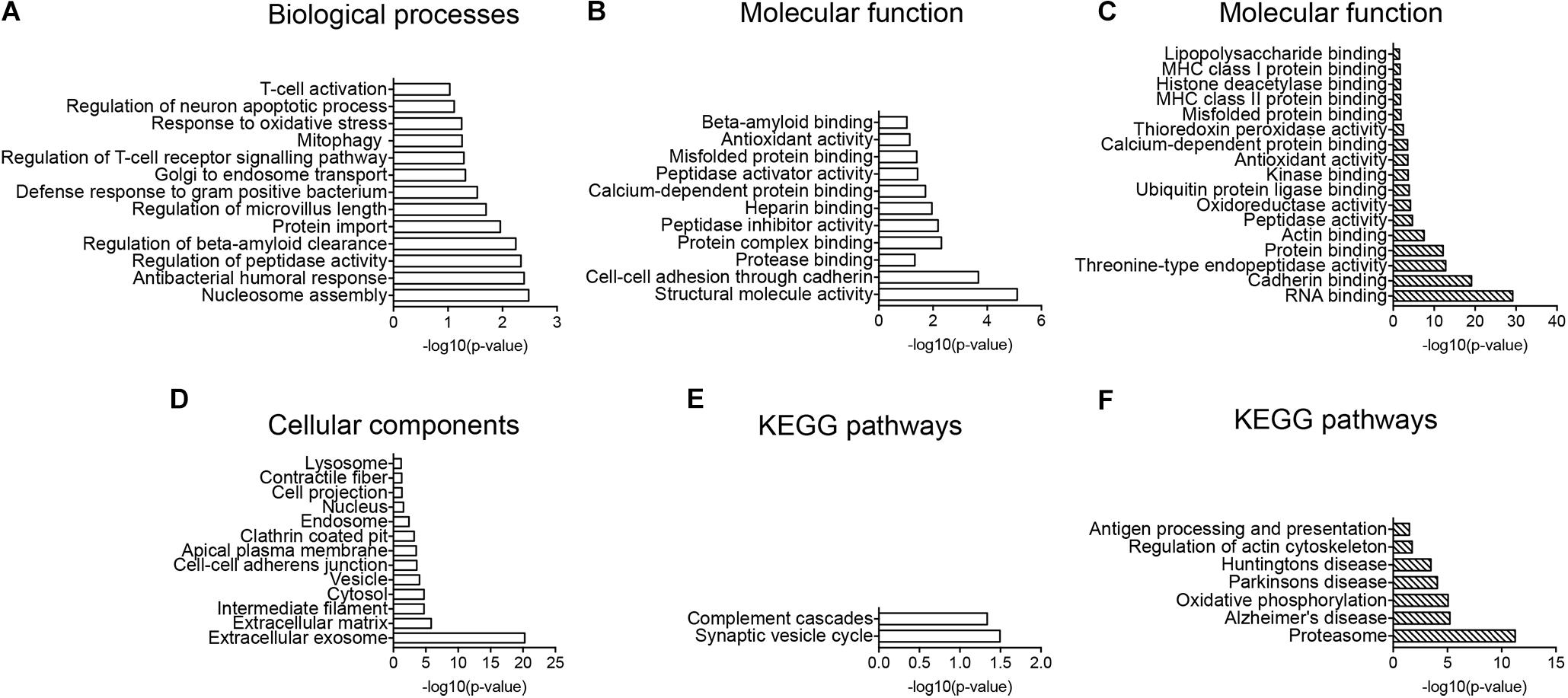 Frontiers   Diverse Protein Profiles in CNS Myeloid Cells