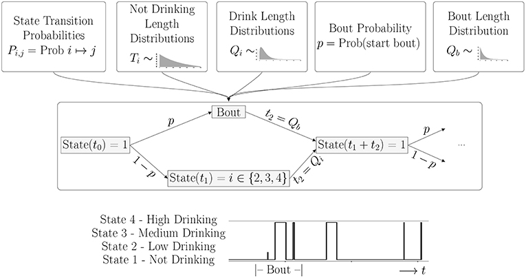 Frontiers | Time for a Drink? A Mathematical Model of Non
