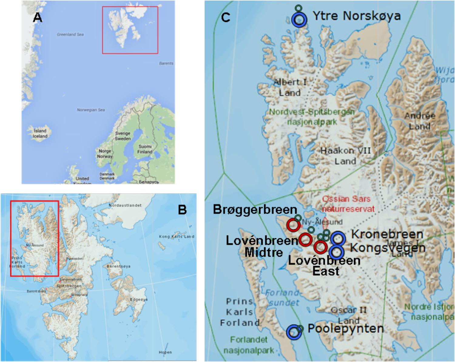 Frontiers   Microbial Communities in Coastal Glaciers and