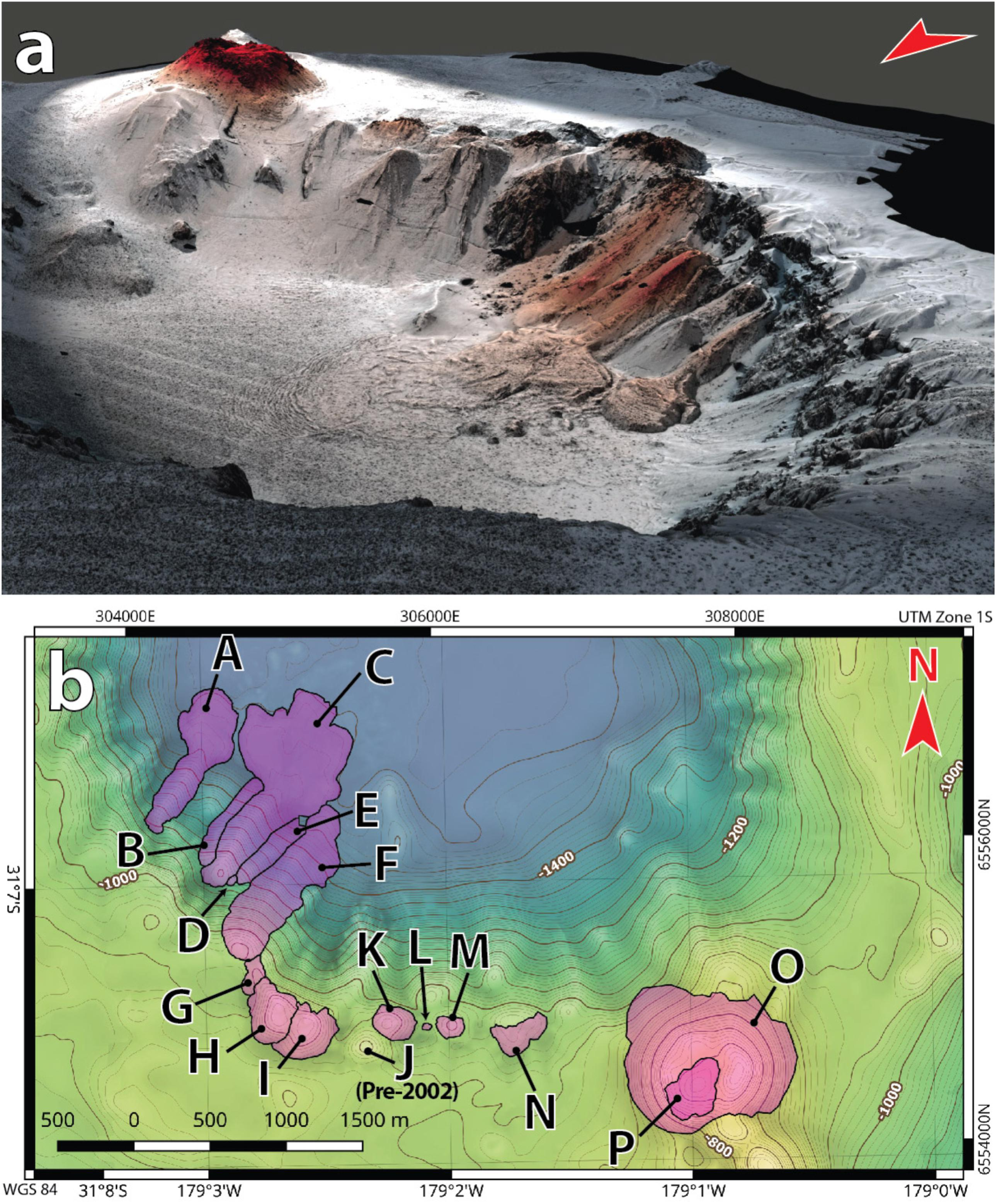 Frontiers | The Eruption of Submarine Rhyolite Lavas and