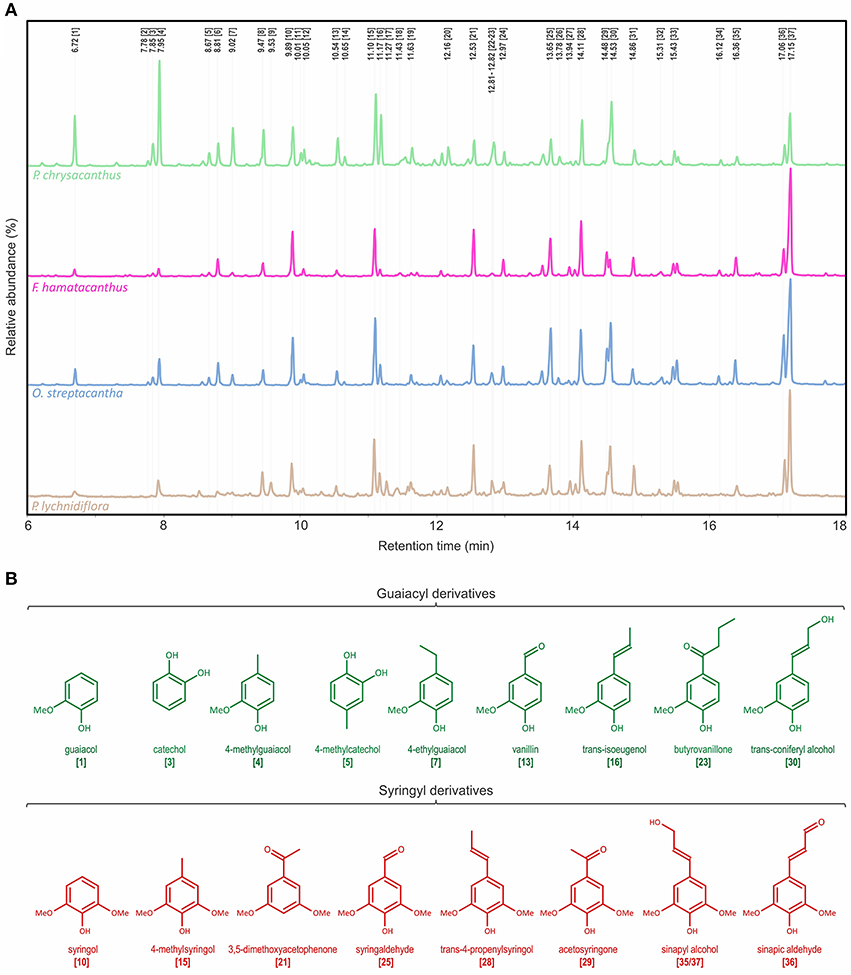 Frontiers | Structural Characterization of Lignin in Four