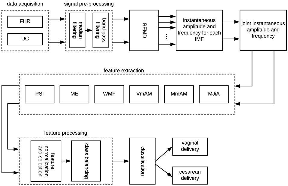 """Frontiers   A Strategy for Classification of """"Vaginal vs  Cesarean"""