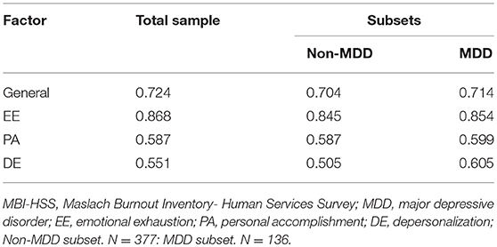 Maslach Burnout Inventory General Survey Pdf