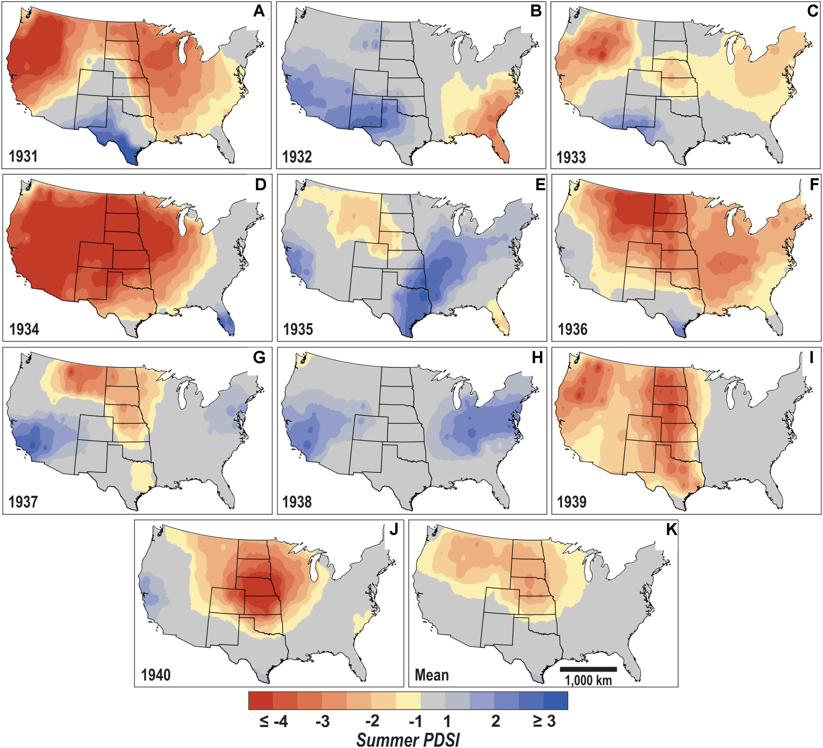 Frontiers | Evaluating Landscape Degradation Along Climatic