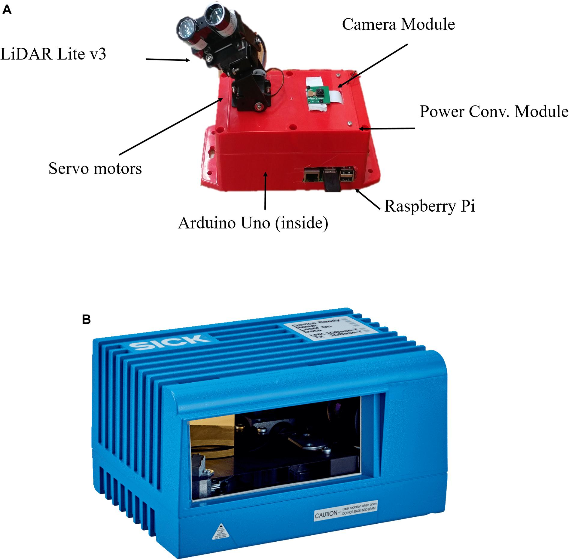 Frontiers | LiDARPheno – A Low-Cost LiDAR-Based 3D Scanning System