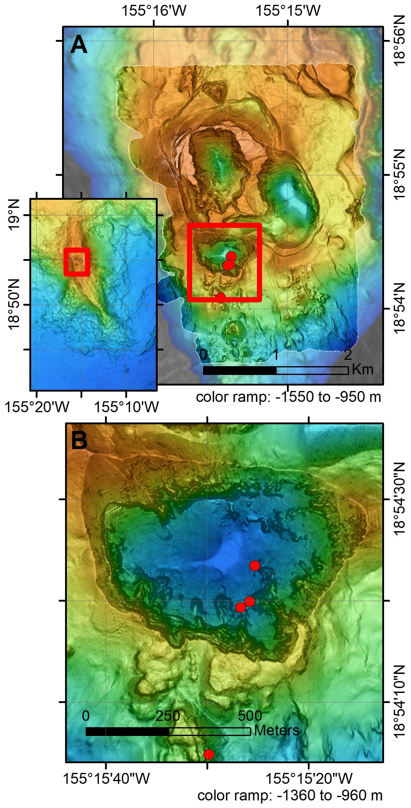 Frontiers | Structure of Lō'ihi Seamount, Hawai'i and Lava Flow
