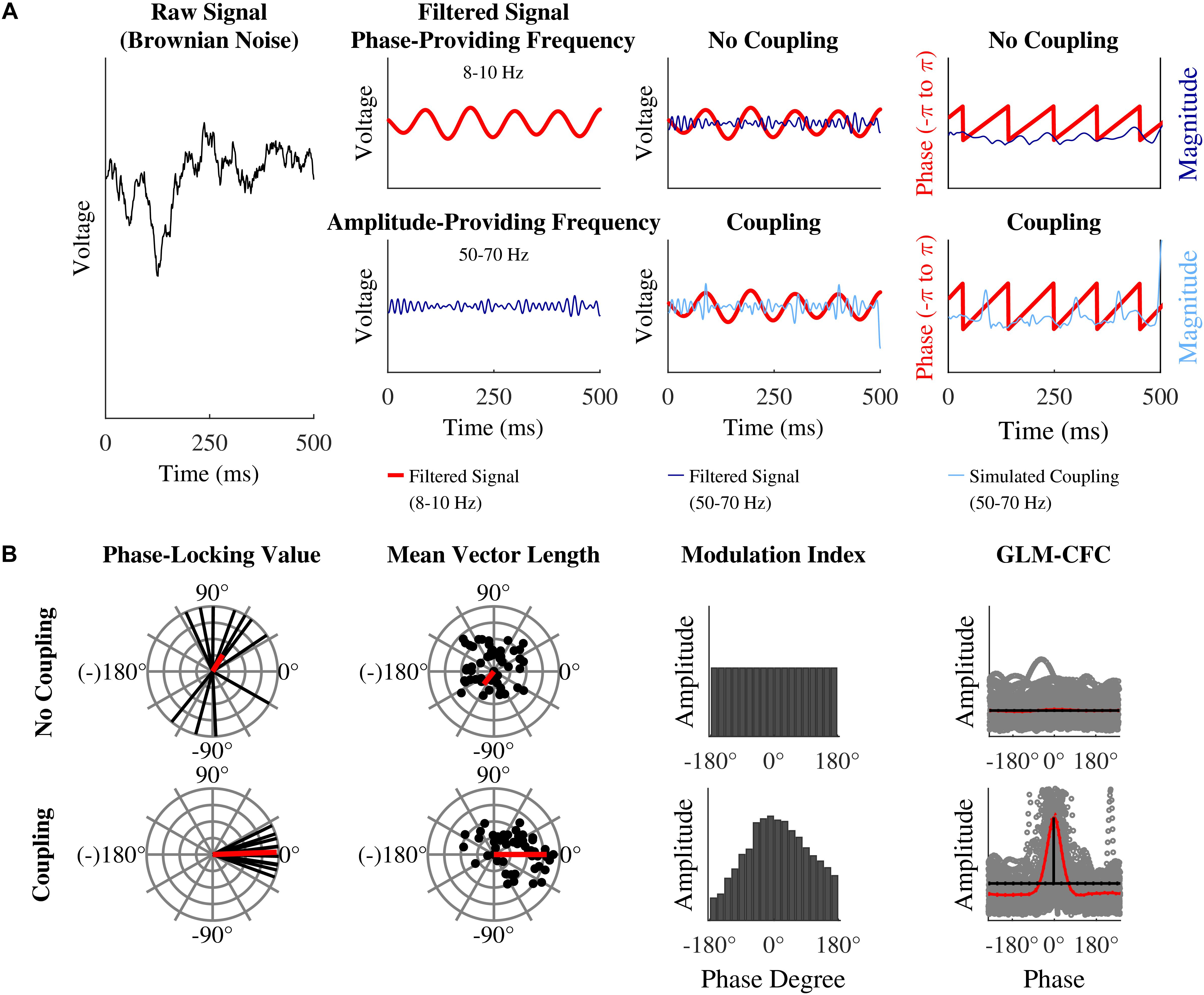 Frontiers | Quantification of Phase-Amplitude Coupling in
