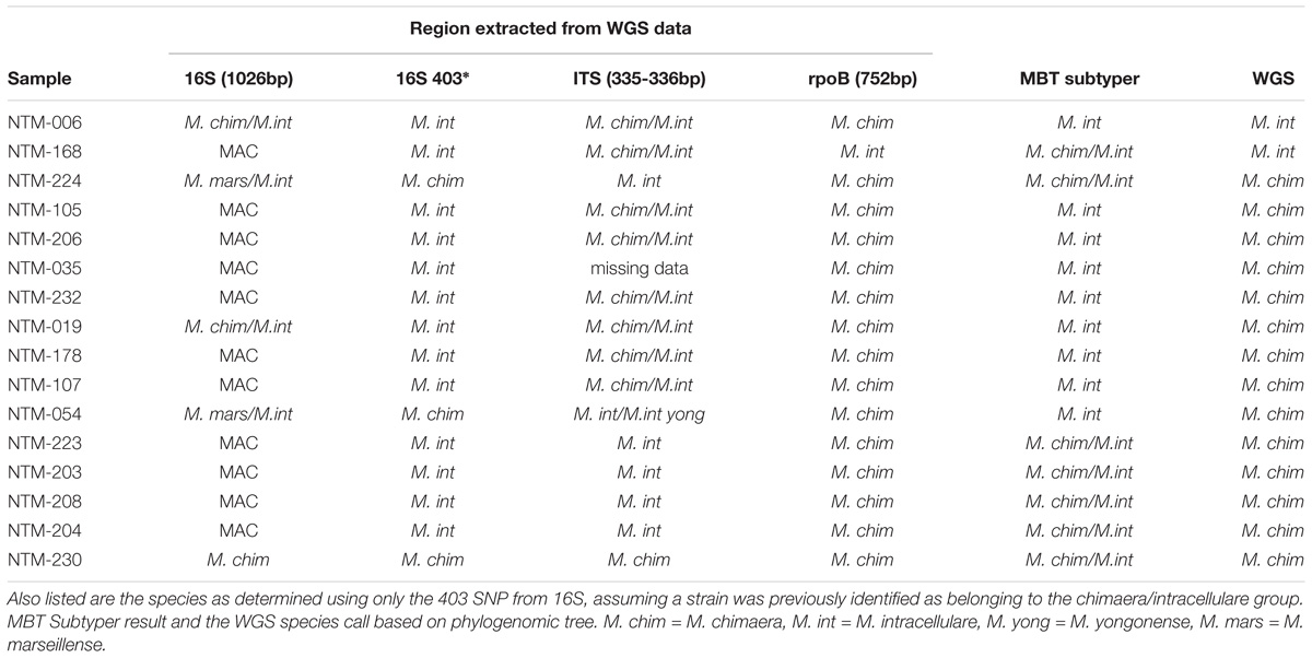 Frontiers | Evaluation of a Novel MALDI Biotyper Algorithm to