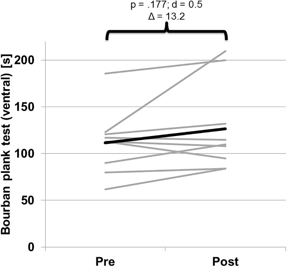 Frontiers | Effects of Isokinetic Training on Trunk Muscle Fitness