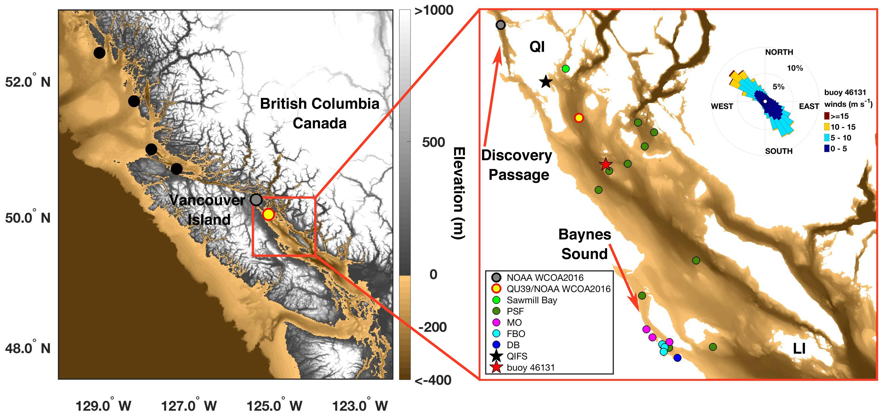 Frontiers | Marine CO2 Patterns in the Northern Salish Sea