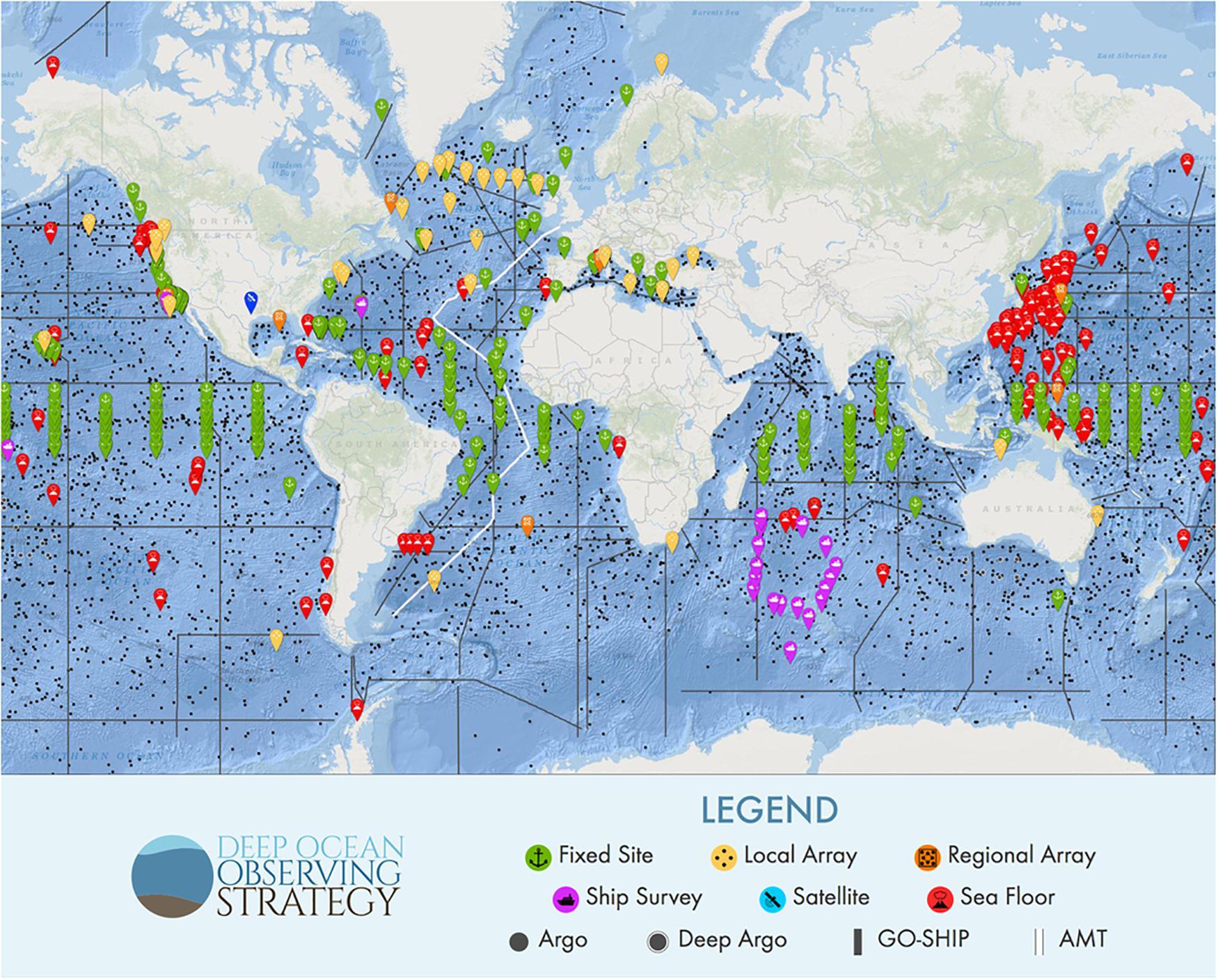 Frontiers | Global Observing Needs in the Deep Ocean