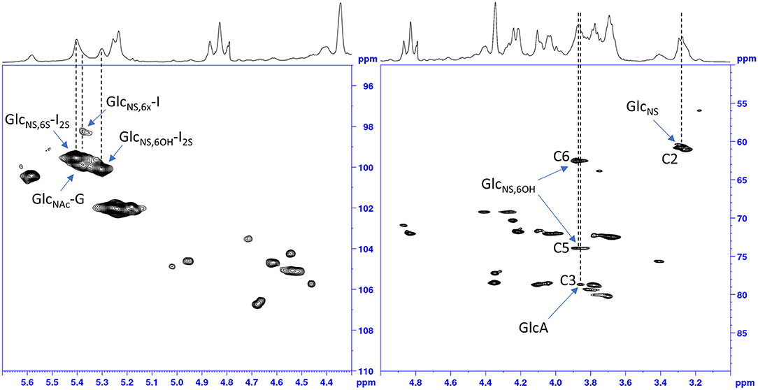 Frontiers   1D and 2D-HSQC NMR: Two Methods to Distinguish