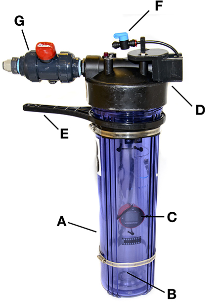 Figure 2 - The SubCAS, or submersible chamber for ascending specimens.