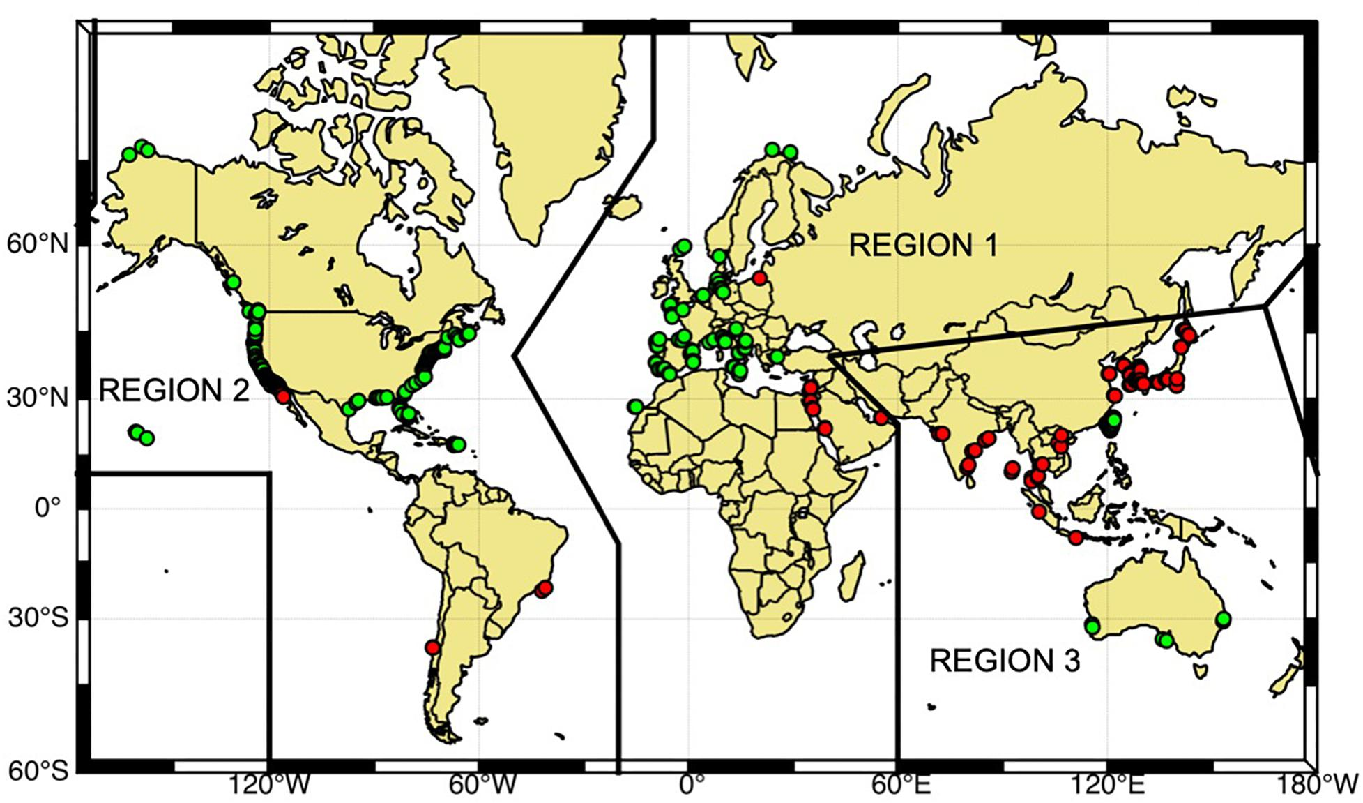 Frontiers | The Global High Frequency Radar Network | Marine Science