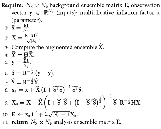 Frontiers   On the Efficiency of Covariance Localisation of