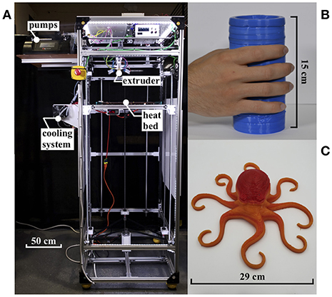 Frontiers | Evaluation of 3D Printed Soft Robots in