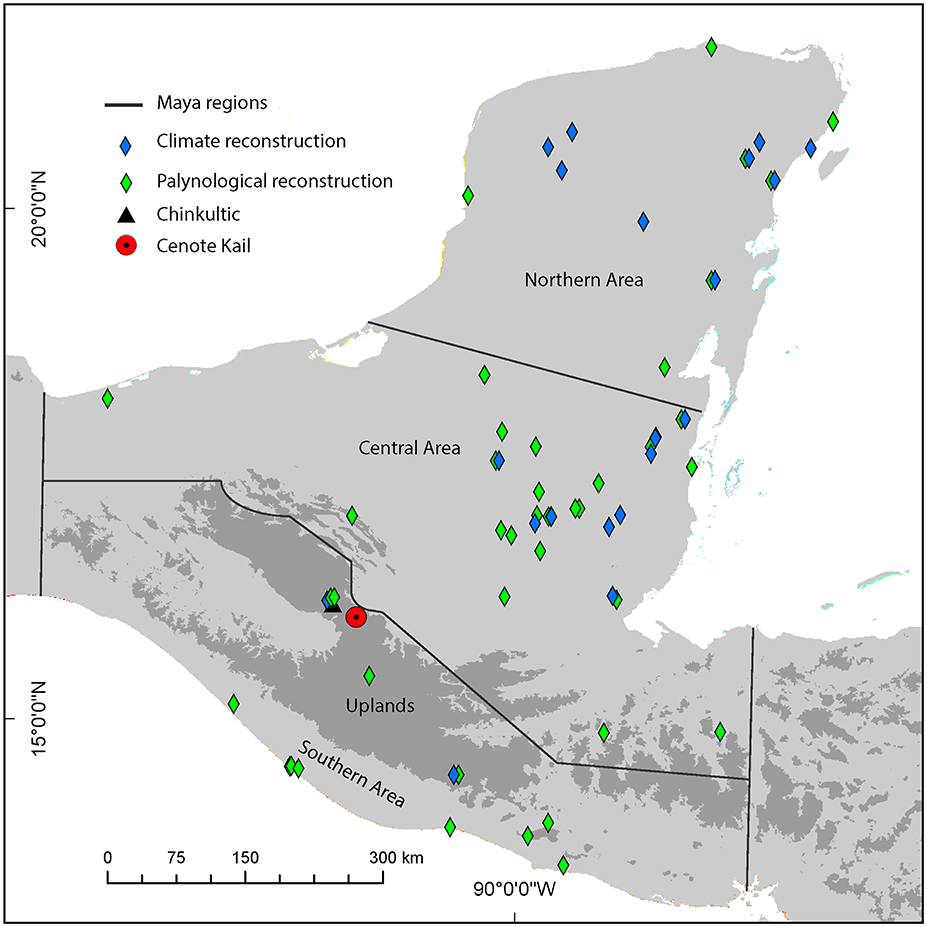 Frontiers | The Legacy of Pre–Columbian Fire on the Pine–Oak Forests