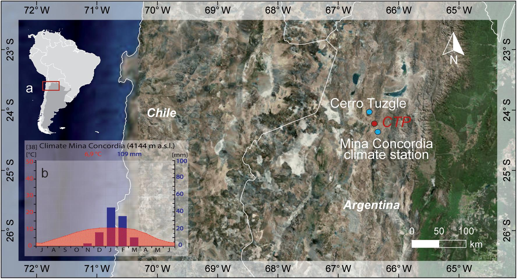 Frontiers | Stable Oxygen Isotope Records (δ18O) of a High-Andean