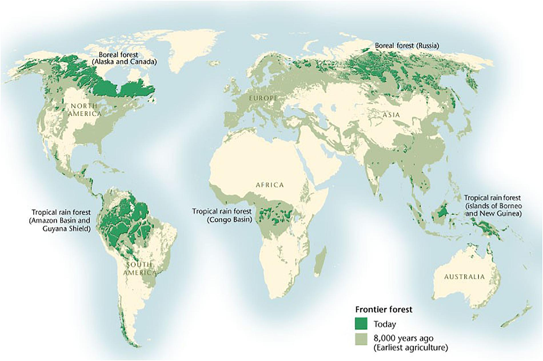 Picture of: Frontiers The State Of Conservation In North America S Boreal Forest Issues And Opportunities Forests And Global Change