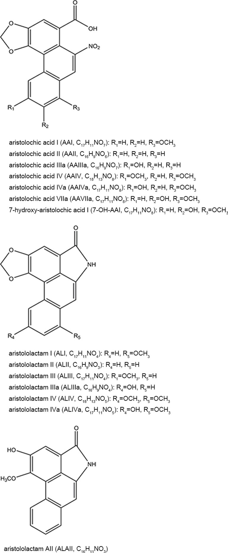 Frontiers | Systematic Overview of Aristolochic Acids
