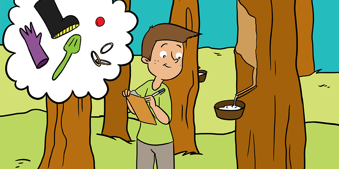 What Is Natural Rubber And Why Are We Searching For New Sources Frontiers For Young Minds