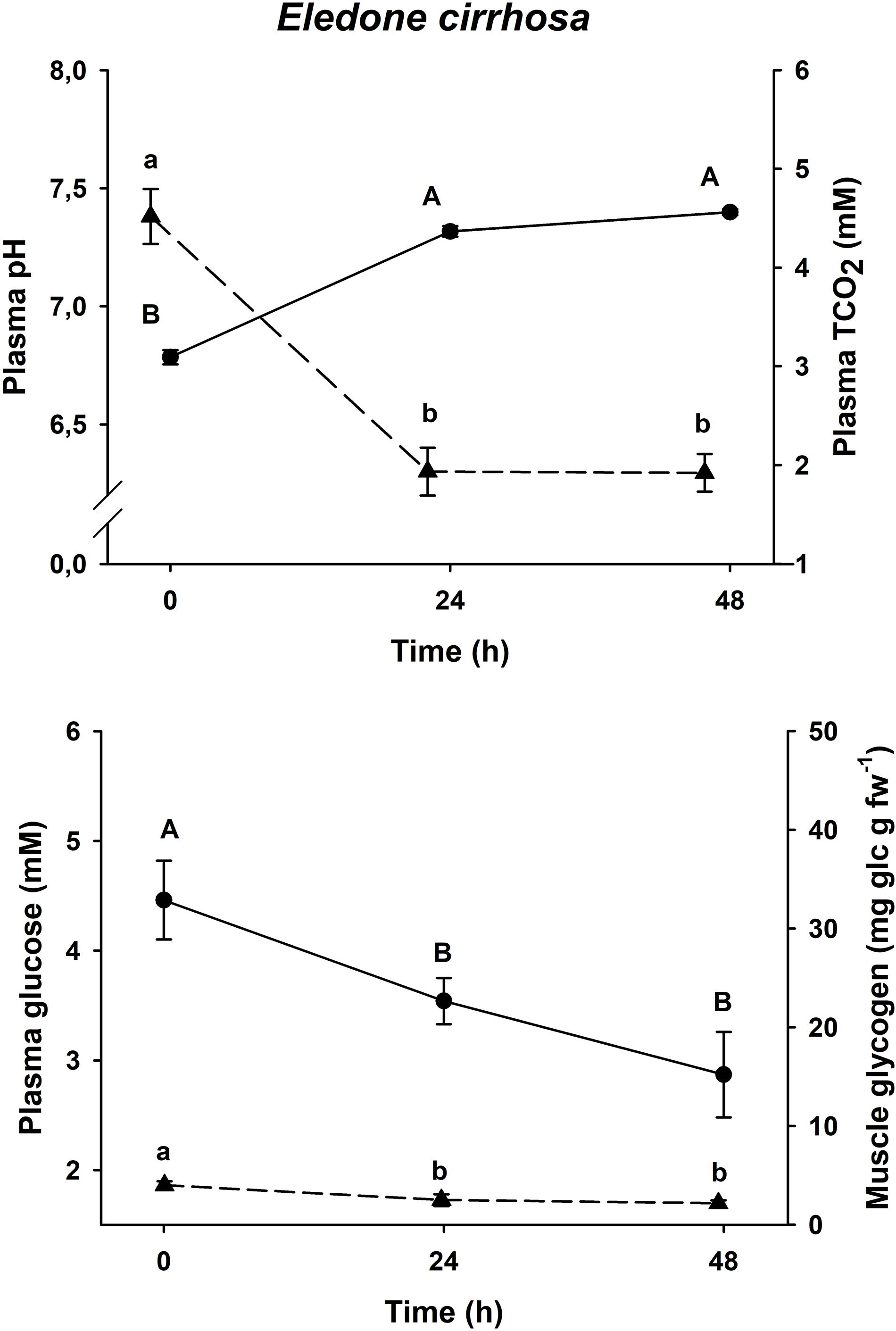 Frontiers   Acute-Stress Biomarkers in Three Octopodidae Species