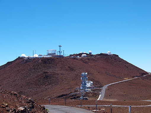 Figure 1 - Haleakala mountain in Maui, Hawaii.