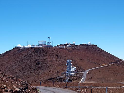 איור 1 - הר הליקלה במאווי, הוואי.