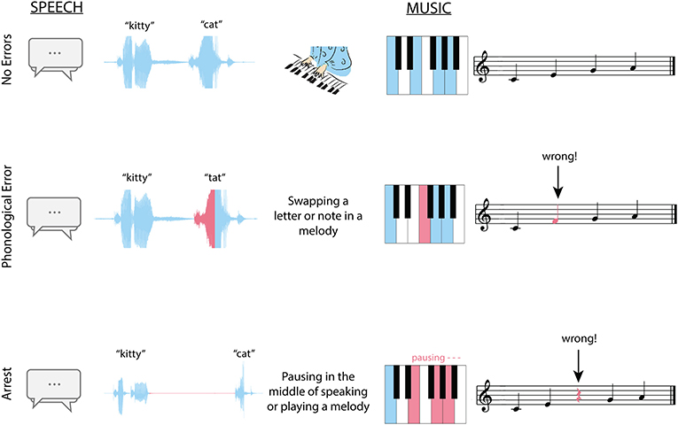 Figure 2 - Some of the mistakes people make when speaking or playing an instrument during ESM.
