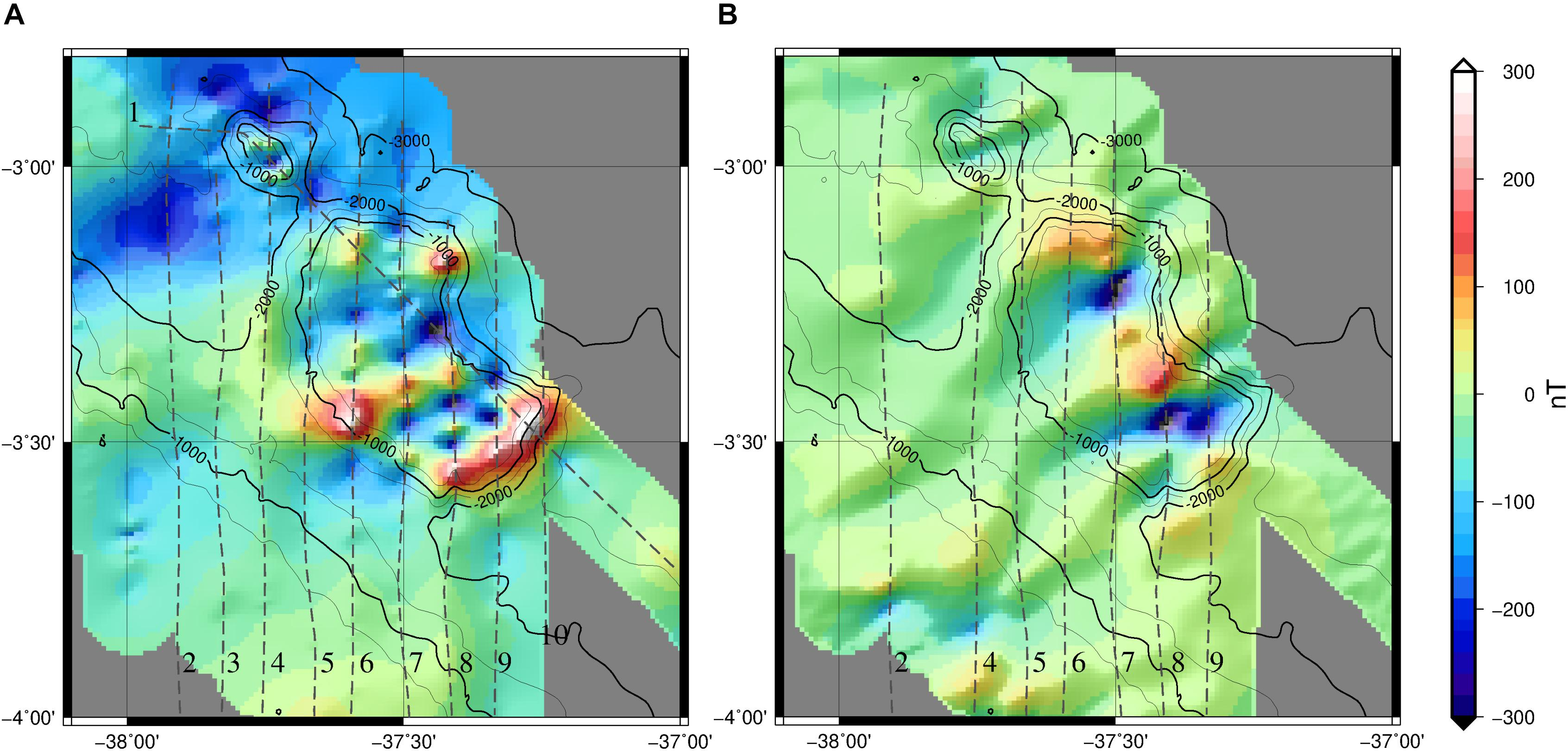 Frontiers Gravity And Magnetic Constraints On The Crustal