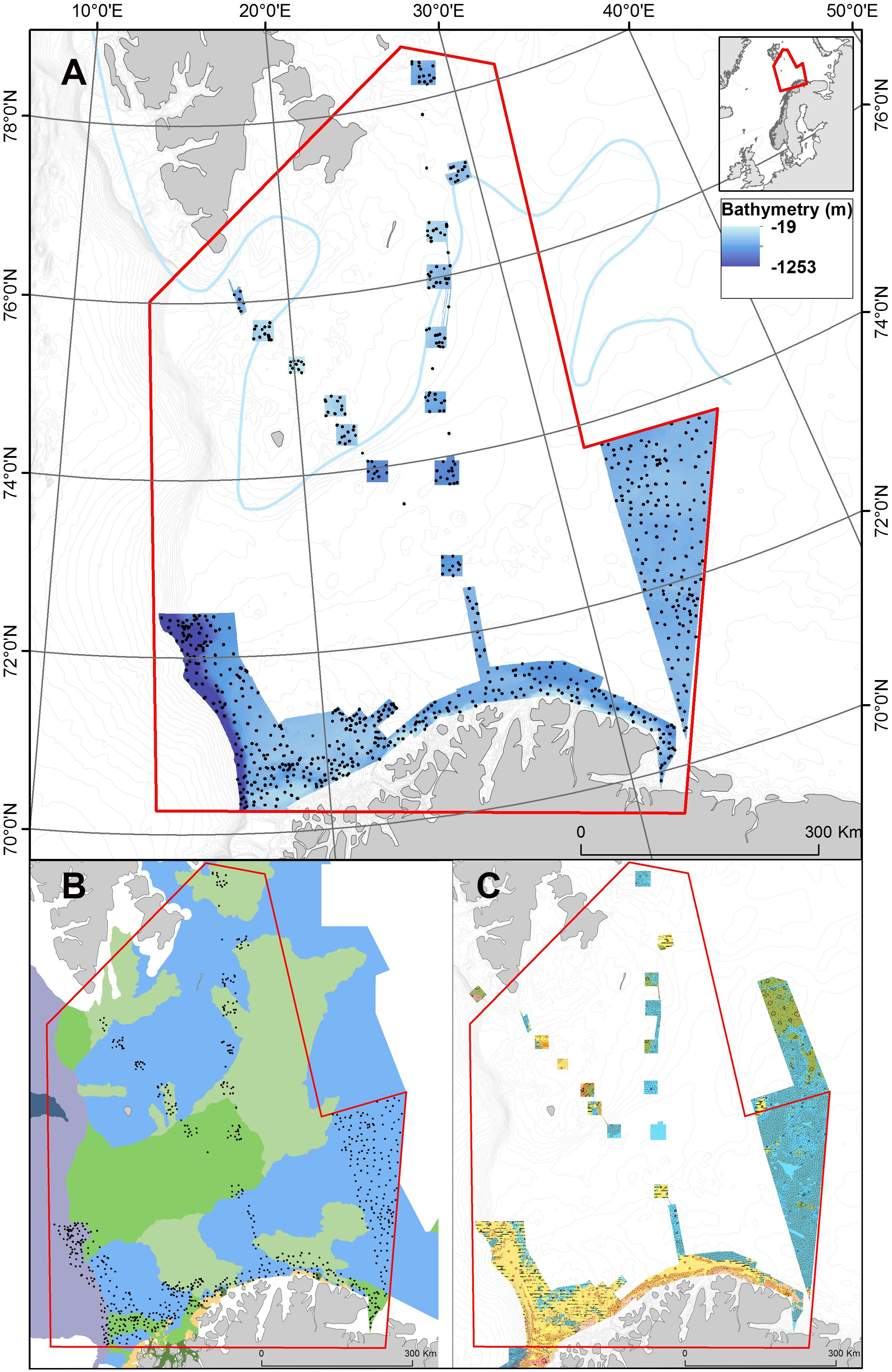 Frontiers Classification And Mapping Of Benthic Biotopes In Arctic And Sub Arctic Norwegian Waters Marine Science