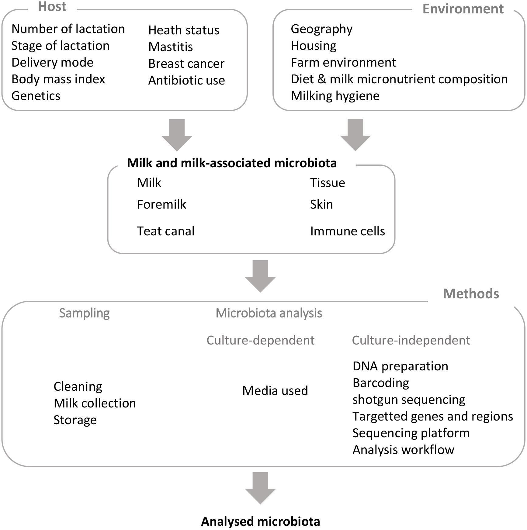 Frontiers | Milk Microbiota: What Are We Exactly Talking