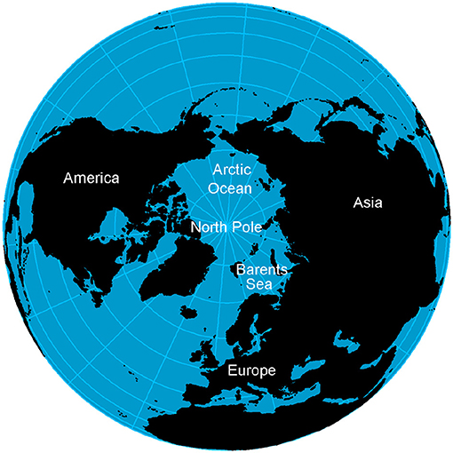 Figure 2 - The location of the Barents Sea.