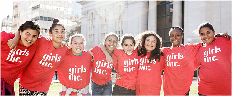 Figure 4 - Girls Inc. is an after-school program for girls ages 6–18.