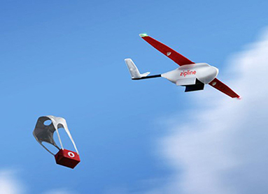 Figure 2 - Some companies are developing innovative techniques to reach isolated patients, such as using drones to deliver important medicines and vaccines!