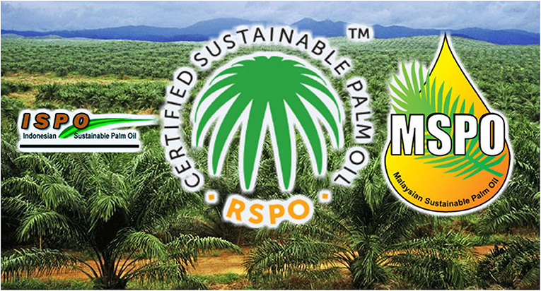 Figure 3 - In the center, you can see the RSPO-certified sustainable palm oil logo.
