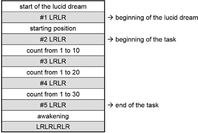Frontiers | Time for actions in lucid dreams: effects of