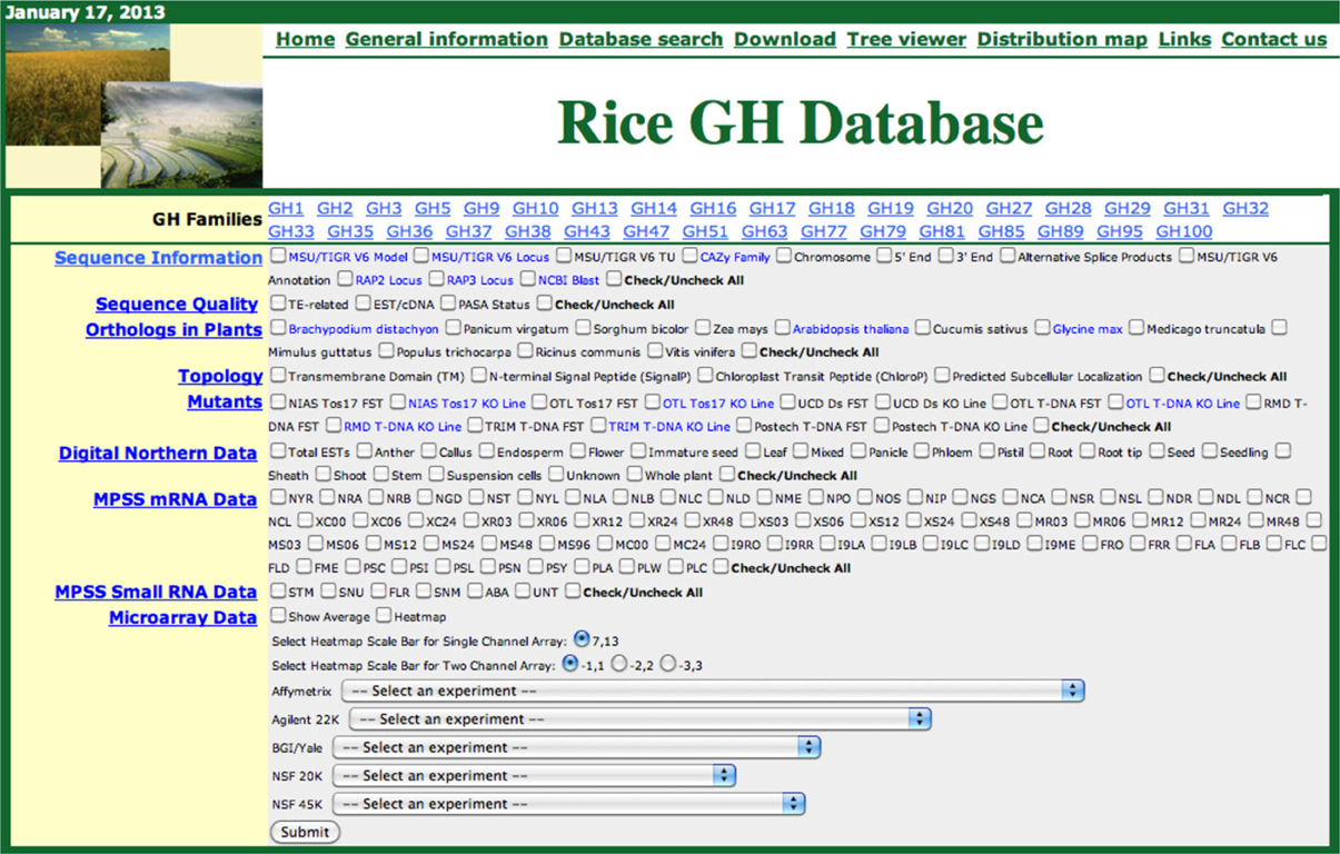 Frontiers construction of a rice glycoside hydrolase phylogenomic frontiersin malvernweather Gallery