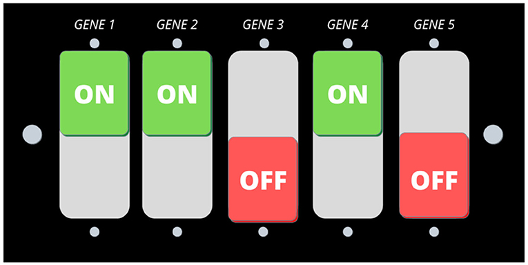 Figure 1 - PTSD is believed to be caused by a combination of genes and environment.