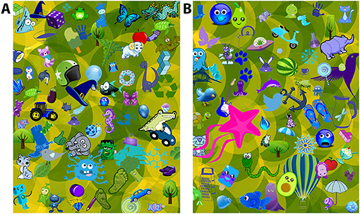 Figure 2 - Can you find the apple in these pictures?