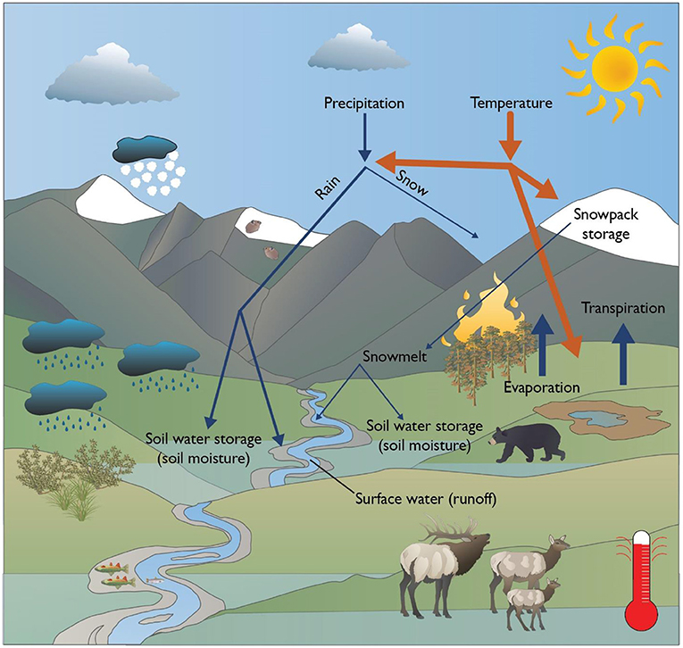 Figure 3 - Scientists predict many changes will occur at Yellowstone National Park as temperatures go up.