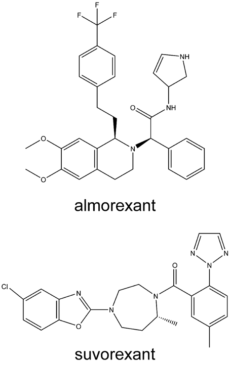 Frontiers   OX1 and OX2 orexin/hypocretin receptor
